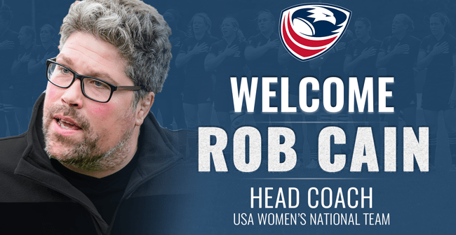 USA Women's Eagles Head Coach Rob Cain Talks to Rugby Media