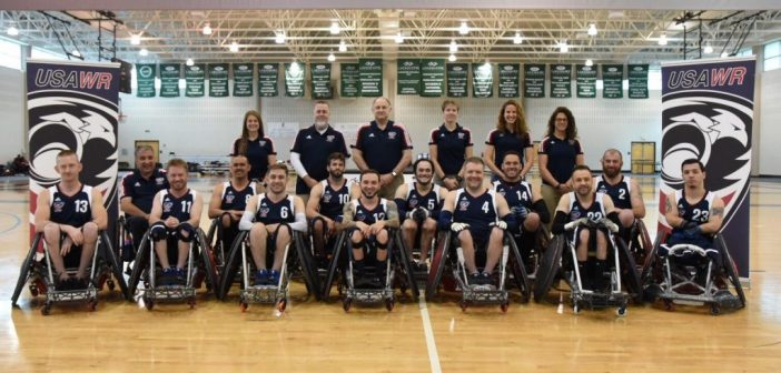 USA Wheelchair Rugby Prepare For Canada Cup & World Championships
