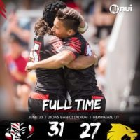 Utah Warriors Comeback Win Over Houston SaberCats Secures Playoffs