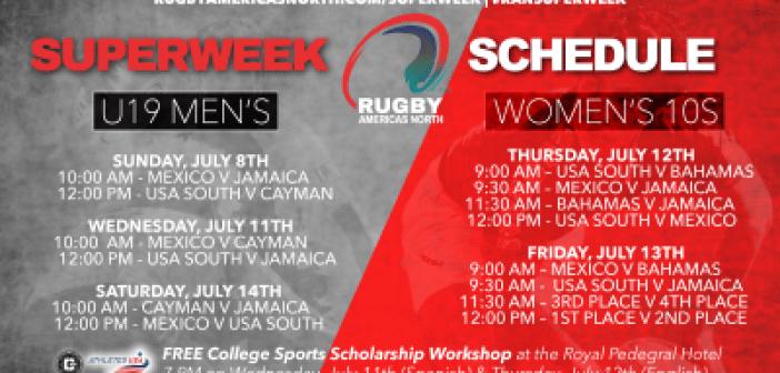 Rugby Americas North 2018 Superweek: Men's U19 & Women's 10s