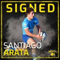 Houston SaberCats Signs Uruguay Scrumhalf Santiago Arata