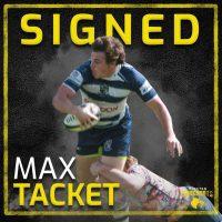 Houston SaberCats Adds Max Tacket