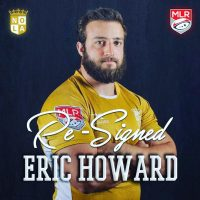 New Orleans Gold Re-Signs Eric Howard