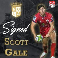 New Orleans Gold Rugby Signs Scott Gale