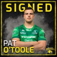 Houston SaberCats Sign Pat O'Toole