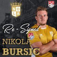 New Orleans Gold Re-Signs Nikola Bursic