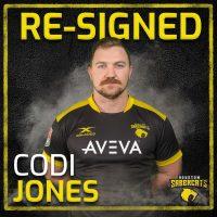Houston SaberCats Re-Sign Codi Jones