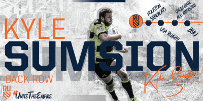 Rugby United New York Signs Kyle Sumsion