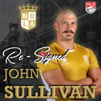 New Orleans Gold Re-Signs John Sullivan