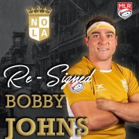 New Orleans Gold Re-Signs Bobby Johns