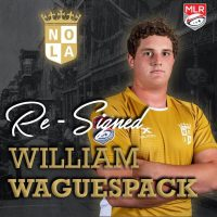 New Orleans Gold Re-Signs William Waguespack