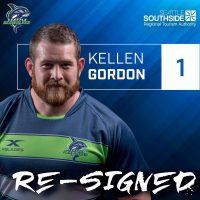 Seattle Seawovles Re-Sign Kellen Gordon