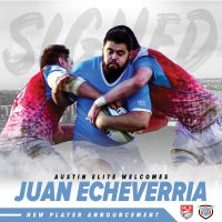 Austin Elite Rugby Adds Uruguay Prop Juan Echeverria