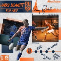 Rugby United New York Re-Signs Harry Bennett