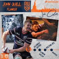Rugby United New York Signs Eagle Flanker John Quill