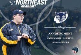 Northeast Academy Names Annemarie Farrell Team Manager