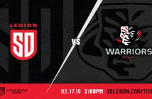 San Diego Legion vs Utah Warriors: MLR 2019