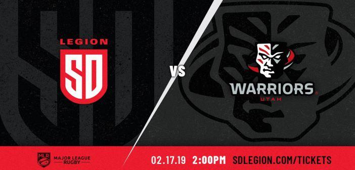 San Diego Legion vs Utah Warriors: MLR 2019