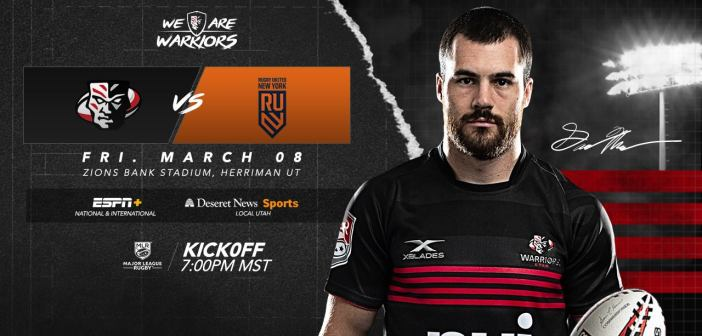 Utah Warriors vs Rugby United New York: MLR 2019