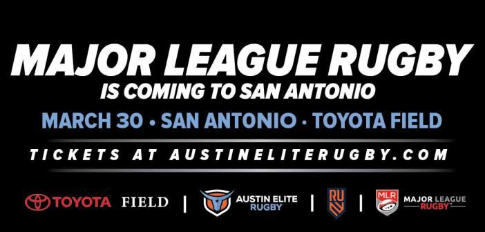 Austin Elite Rugby Plays Rugby United New York in San Antonio
