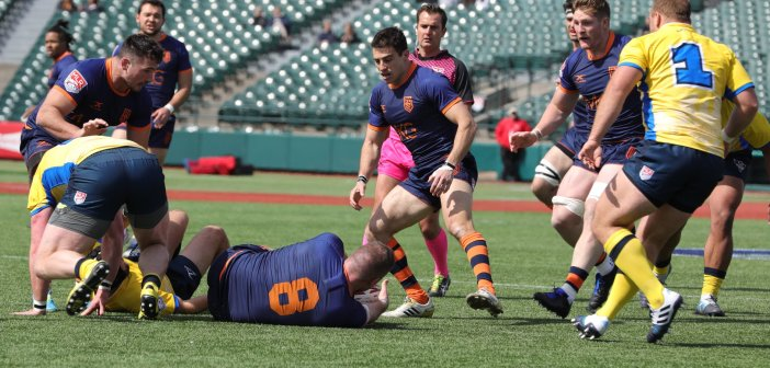 Rugby United New York Strong at Home Beating Glendale Raptors