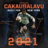Rugby United New York Signs Apenisa Cakaubalavu