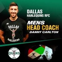 Dallas Harlequins Name Danny Carlton Head Coach