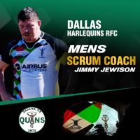 Dallas Harlequins Names Jimmy Jewison as Men's Scrum Coach