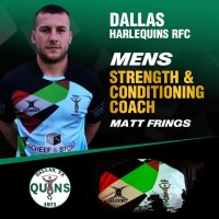Dallas Harlequins Retain Strength & Conditioning Coach Matt Frings