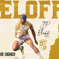 NOLA Gold Extends JP Eloff Contract