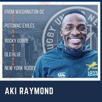 Rugby United New York Adds Aki Raymond