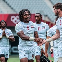 USA Men's Rugby Sevens Finish Second in Pool; Meets Great Britain in Medal Quaterfinals
