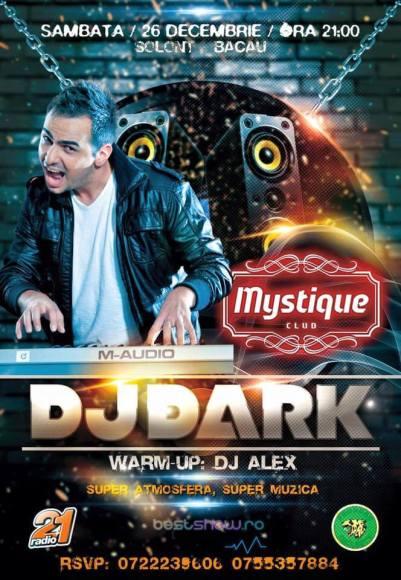 DJ Dark @ Mystique Club
