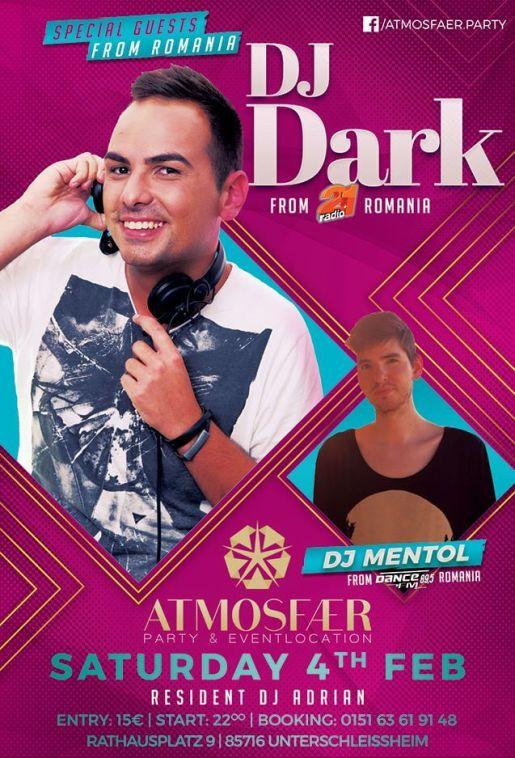 Dj Dark & Dj Mentol @ Atmosfaer Club (Munchen)