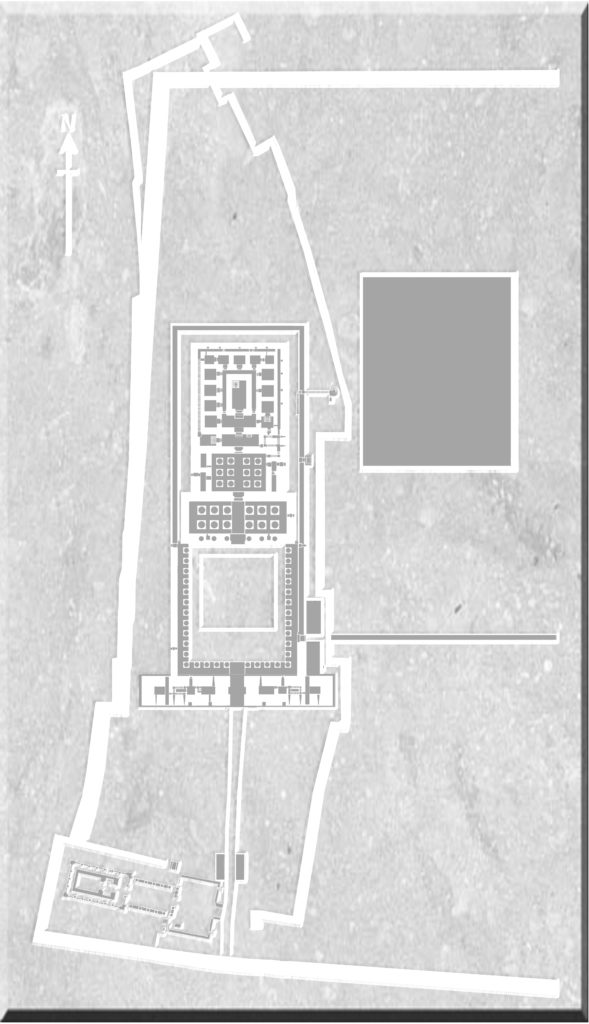 Reconstruction Map of Djaba' (Edfu)