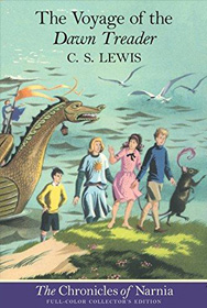 voyage of the dawn treader book cover