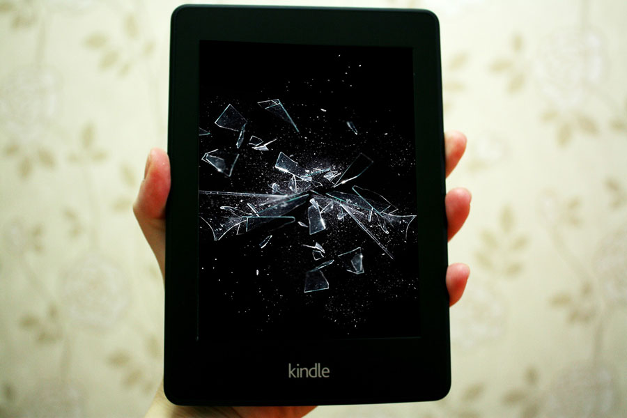 kindle shattered