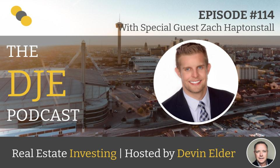 The DJE Multifamily Podcast #114 with Zach Haptonstall