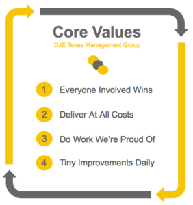 DJE core values