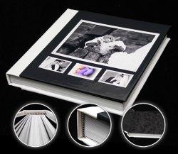 11a.Album BOTEZ 30x30cm Imitatie piele cu oglinda din catifea 500 lei