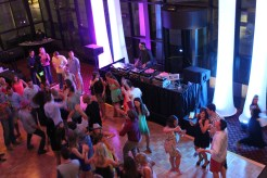 The Select Group Partying at Raleigh Memorial Auditorium