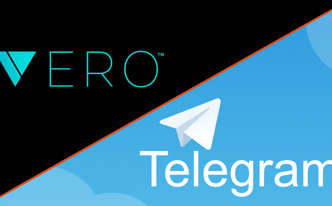 Vero and Telegram, The Top 3 Reasons I'm There Now