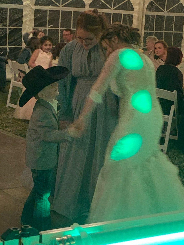 Austin & Auberly - April 16 - Wedding Recap Reception Dance Cowboy