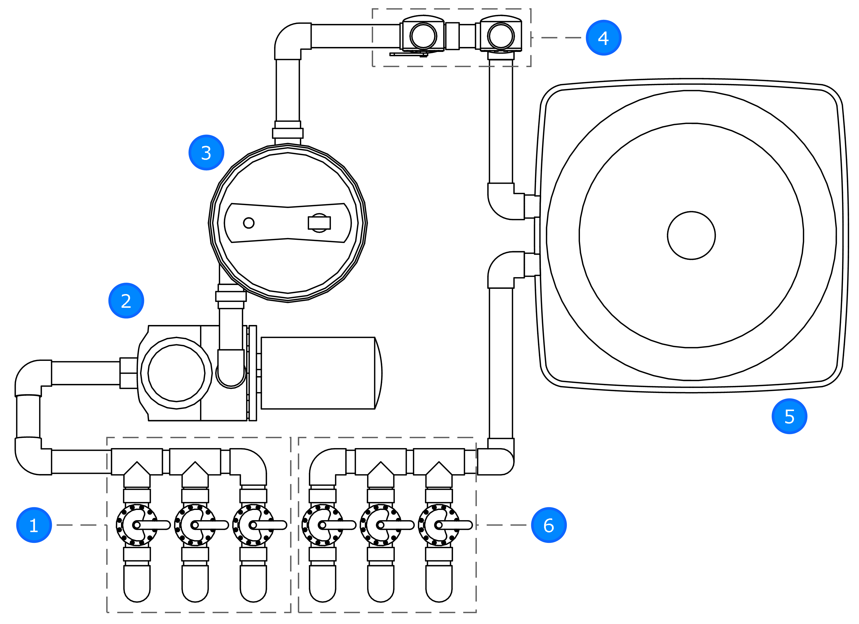 Old Swimming Pool Plumbing Diagram