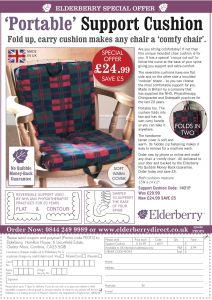 Elderberry off the page advertisement