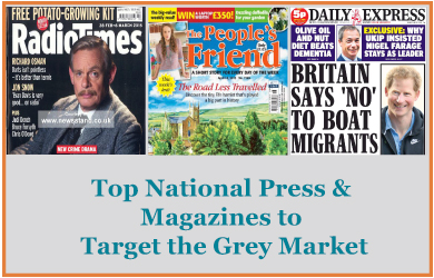 A Review of Press Targeting the Grey Consumer