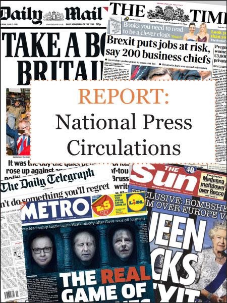 National Press Circulations