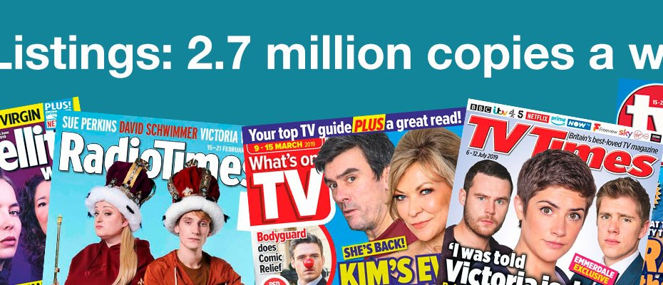 TV Listings Magazine Circulations