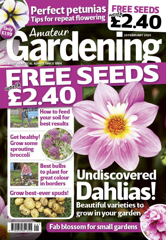 Amateur Gardening Readership Profile Djh Advertising