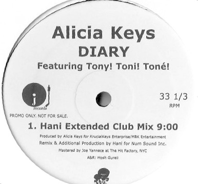 Alicia Keys - DIARY (HaNi ReMix) ReMaster